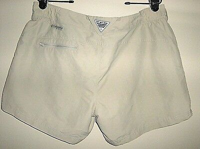 Women Columbia PFG Omni Shade Shorts 100% Nylon Size XL