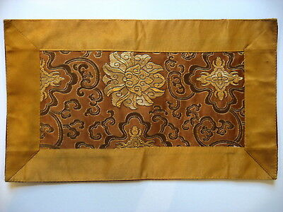Tibetan Buddhism Lotus and Clouds Silk Altar Cloth Nepal