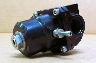 Aeromotive 13304 X1 Series Fuel Pressure Regulator, 3-20 psi, -8AN O-Ring In/Out