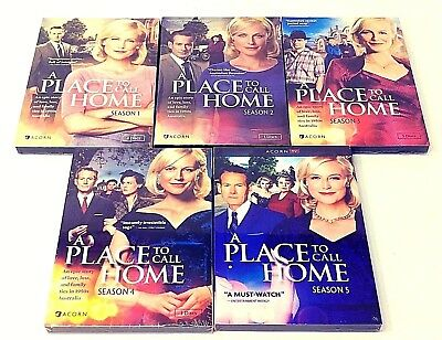 A Place To  Call Home :the Complete Series - Seasons 1-5 Dvd New! Free Shipping!