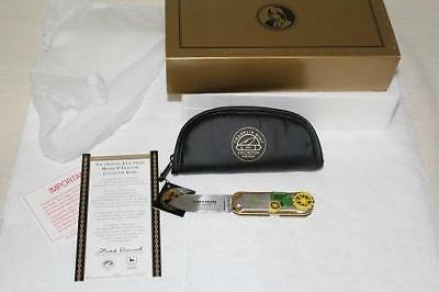 MINT 1923 John Deere D Collector's Folding Pocket Knife FM New