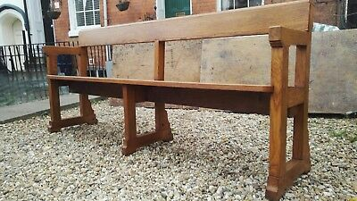 Vintage Solid Oak Shaker Style Benches - 6ft Long - 6 Available