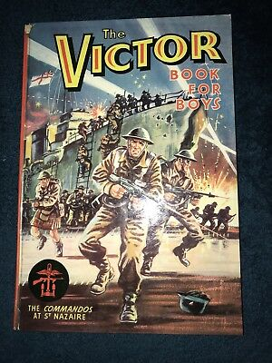The Victor Book for Boys, 1964, issue No. 1