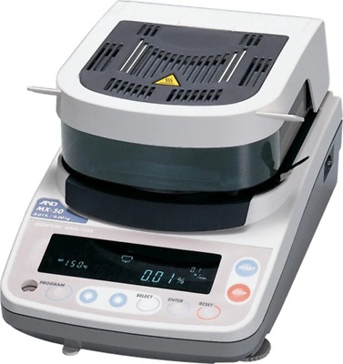 A&D MX50 Moisture Analyzer (DEMO UNIT)