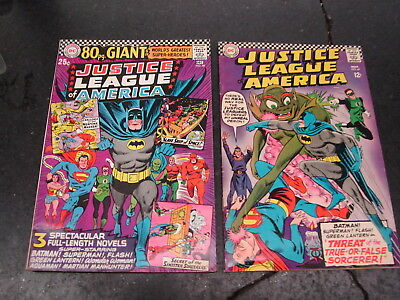Justice League of America #48 80 pg Giant,#49,DC Comics,Silver Age
