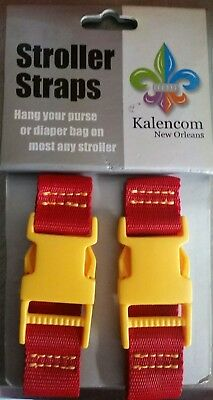 NEW Kalencom Stroller Straps New Orleans Red Yellow Brown Baby Accessory