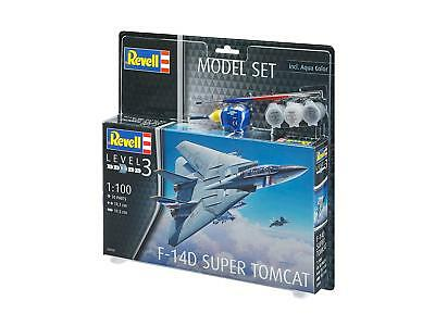 Revell 63950 F-14D Super Tomcat 1:100 Scale Model Set
