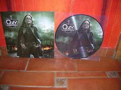 Ozzy Osbourne - Black Rain Lp Picture Disc Ultrarare & Great Collector !!!