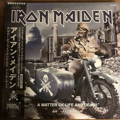 Iron Maiden - A Matter Of Life And Death Tour 2Lp Ultrarare & Great Collector !!