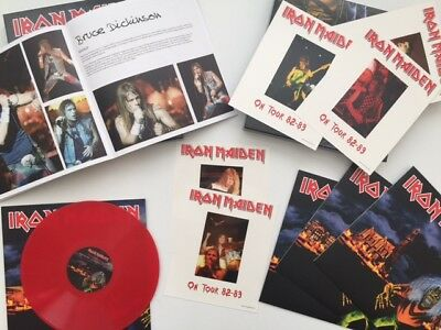 Iron Maiden - Burning Amsterdam Ultrarare & Great Boxset + 4Lp + Book Collector