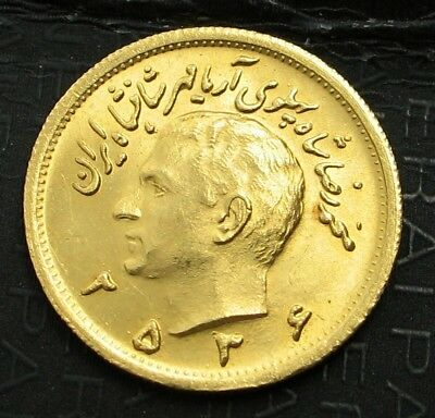 1977 (2536) One  Pahlavi Gold  Coin