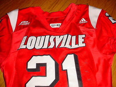 online store 31d59 dbff3 LOUISVILLE CARDINALS GAME Used Football Jersey Size 42 Awesome!!!