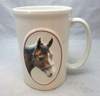 Equine Expressions Horse head mug. L. McGuire quote