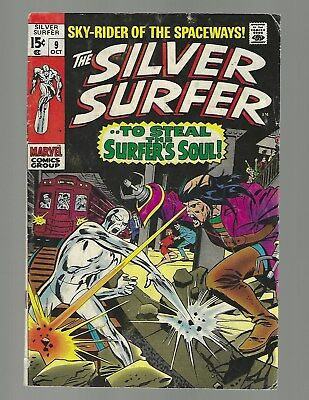 Silver Surfer #9 To Steal The Surfer's Soul