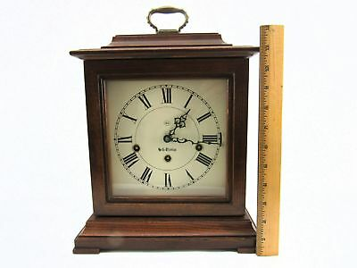 Seth Thomas 1308 Document 8-Day Key Wound Westminster Carriage Mantel Clock