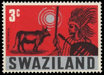 "SWAZILAND 134 (SG132) - Incwala ""Feast of the First Fruits"" (pa93608)"