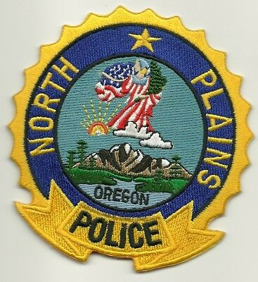 Neat! North Plains Police State of Oregon OR Shoulder Patch