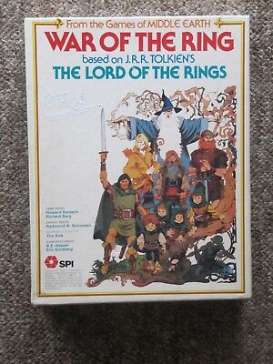 1977 War Of The Ring Strategy Game. COMPLETE. GREAT CONDITION Lord of the Rings.