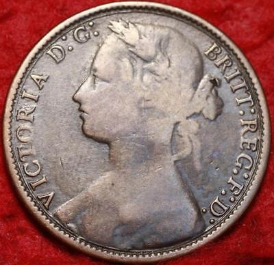 1877 Great Britain One Penny Foreign Coin
