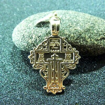 Silver 925 Cross of the Russian old believers (s163).