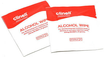 Solvent Alcohol Wipes Surface Preparation Sterile Disinfection Sachets Cleaning