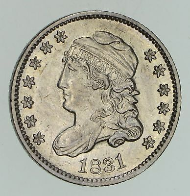 1831 Capped Bust Half-Dime - Not Circulated *4736