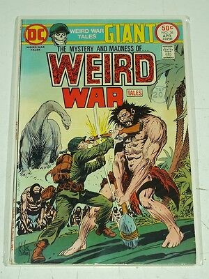 Weird War Tales #36 Vg+ (4.5) Dc Comics Giant April 1975*