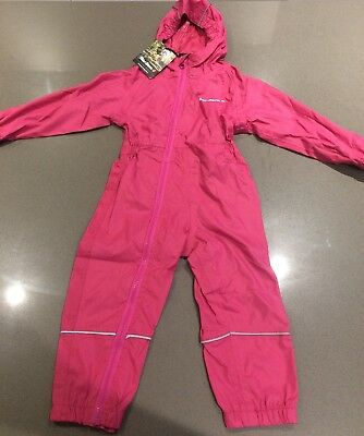 Girls Peter Storm all in one waterproof suit size 12-18months BNWT RRP £20
