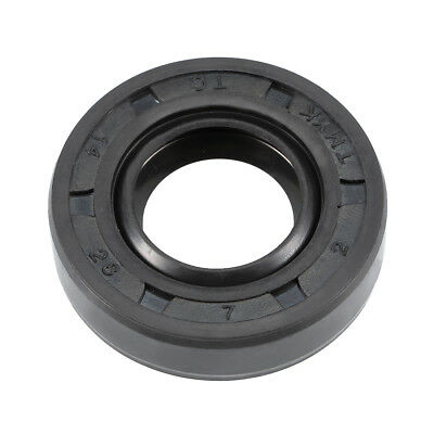 Oil Seal, TC 14mm x 28mm x 7mm, Nitrile Rubber Cover Double Lip