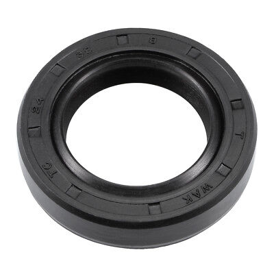 Oil Seal, TC 24mm x 38mm x 8mm, Nitrile Rubber Cover Double Lip