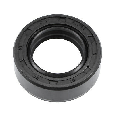 Oil Seal, TC 18mm x 30mm x 10mm, Nitrile Rubber Cover Double Lip