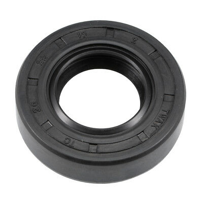 Oil Seal, TC 20mm x 38mm x 10mm, Nitrile Rubber Cover Double Lip