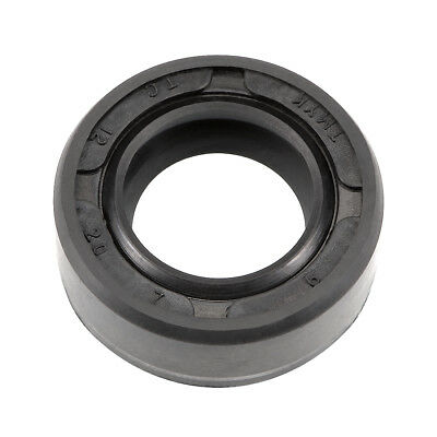Oil Seal, TC 12mm x 20mm x 7mm, Nitrile Rubber Cover Double Lip