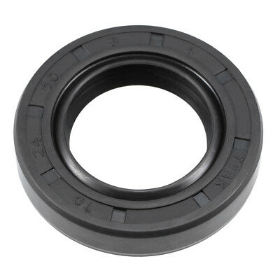 Oil Seal, TC 24mm x 40mm x 8mm, Nitrile Rubber Cover Double Lip