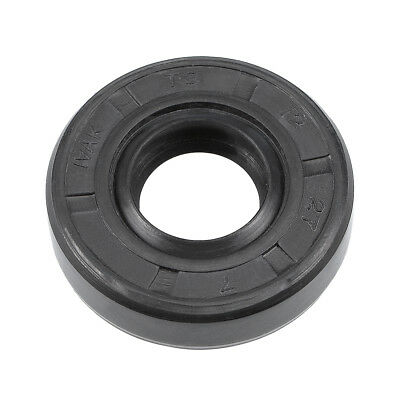 Oil Seal, TC 12mm x 27mm x 7mm, Nitrile Rubber Cover Double Lip