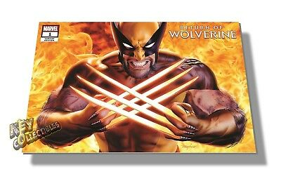 Marvel RETURN OF WOLVERINE #1 Mike Mayhew SECRET VARIANT