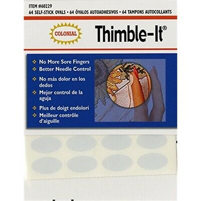Colorbok 60229 Thimble-it Finger Pads, 64 Per Package - Thimbleit Colonial