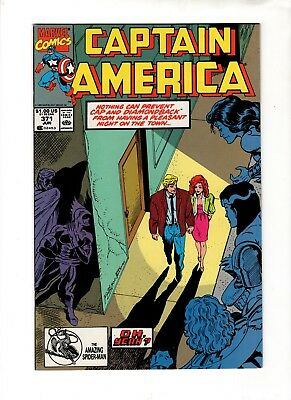 Captain America 371 Scarce Jc Penney Stridex 2Nd Print Variant Spider-Man Upc