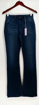 Hot in Hollywood by Laurie Felt Silky Denim Jeans Boot Cut Style # A279101