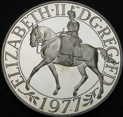 GREAT BRITAIN 25 New Pence 1977 Proof - Silver - Silver Jubilee - 1805 ¤
