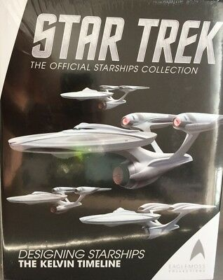 Star Trek: Designing Starships, Book 3 (The Kelvin Timeline) Eaglemoss OVP