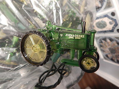 John Deere Christmas Tree Lights: String of 20 Model B Tractor: 13 Feet