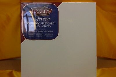 4 Loxley Chunky Stretched Artist Canvas ##???232Bw