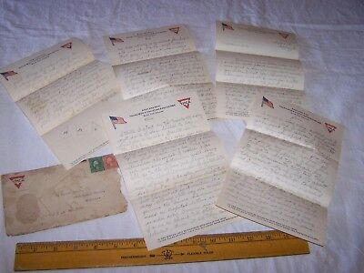 1918 ARMY & NAVY YMCA YOUNG MEN'S CHRISTIAN ASSOCIATION Letter Letterhead