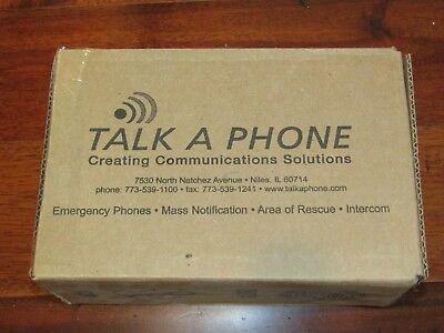 Talk-A-Phone ETP-100MB Surface Mount Elevator Emergency Phone Hands Free