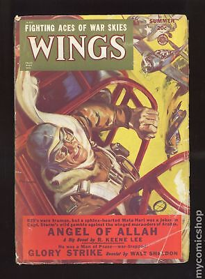 Wings (Fiction House) #Vol. 11 #6 1949 GD 2.0