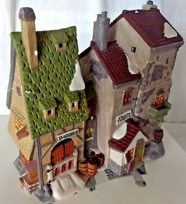 """Dickens'Village Series Oliver Twist """"FAGIN'S HIDE-A-WAY"""" Heritage Collection #56"""