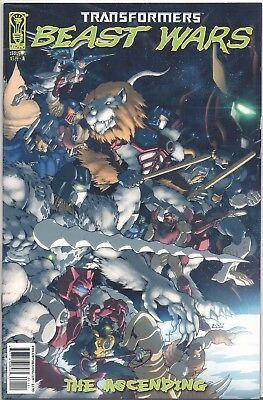 Transformers Beast Wars The Ascending (IDW) (2007) # 1 a