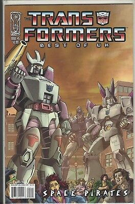 Transformers Best of UK Space Pirates  (IDW) (2008) # 5