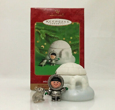 Hallmark Ornament 2000 Frosty Friends - Premiere Exclusive Set of 3 - #QX8524